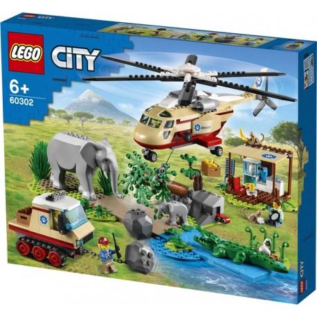 LEGO® 60302 Rescate de la Fauna Salvaje: Operación