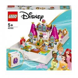 LEGO® 43193 Cuentos e Historias: Ariel, Bella, Cenicienta y Tiana