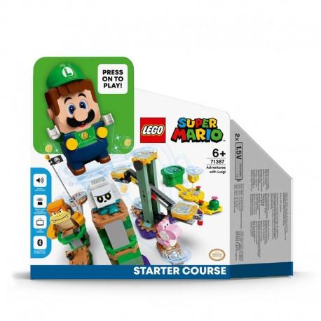 LEGO® 71387 Pack Inicial: Aventuras con Luigi