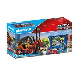 Playmobil® 70772 Carretilla Elevadora con Carga