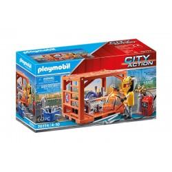 Playmobil® 70774 Fabricante de Contenedores