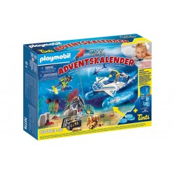 Playmobil® 70776 Calendario de Adviento Misión policial de buceo diversión en el baño