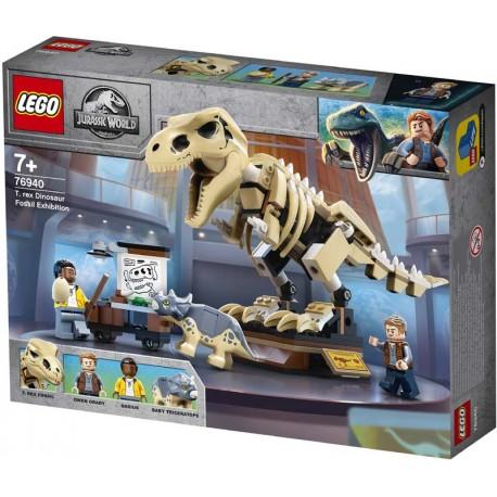 LEGO® 76940 Exposición del Dinosaurio T. rex Fosilizado
