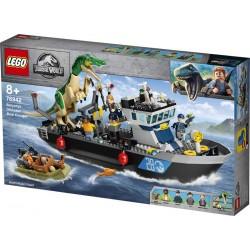LEGO® 76942 Fuga del Barco del Dinosaurio Baryonyx