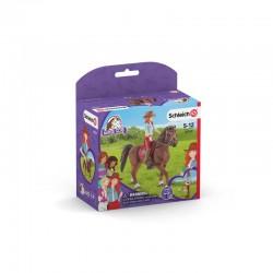 Schleich® 42539 Horse Club Hannah & Cayenne