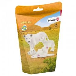 Schleich® 42505 Leona Madre con Cachorros