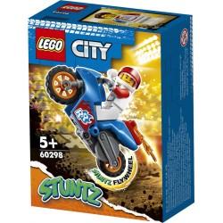 LEGO® 60298 Moto Acrobática: Cohete