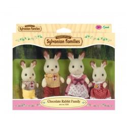 Sylvanian Families 4150:Familia Conejos Chocolate