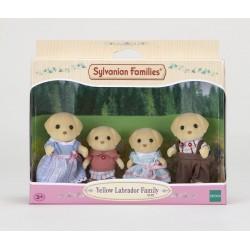 Sylvanian Families  5182: Familia Perros Labrador
