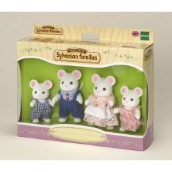 Sylvanian Families 4121 Familia Ratones Blancos