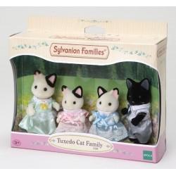 Sylvanian Families 5181: Familia Gatos Esmoquin