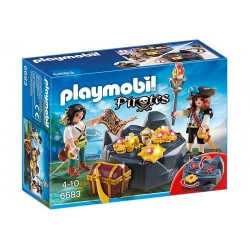 Playmobil® 6683 Escondite del Tesoro Pirata