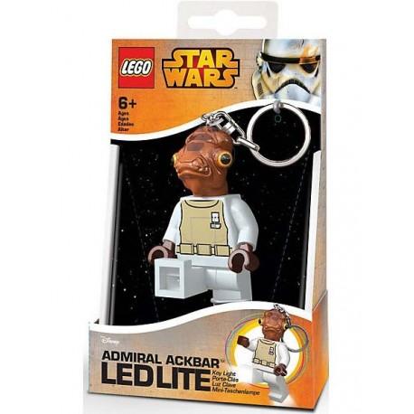 Llavero con Luz Led Lego® Admiral Ackbar