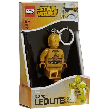 Llavero con Luz Led Lego® C-3PO
