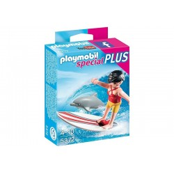 Playmobil® 5372 Surfista con Tabla de Surf